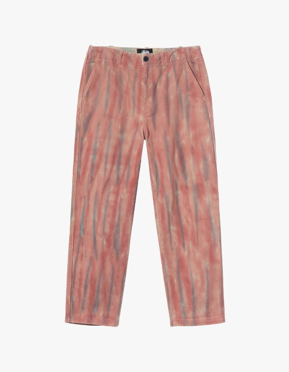 Stussy Dyed Uniform Pant - Rust | HEIGHTS. | International Store