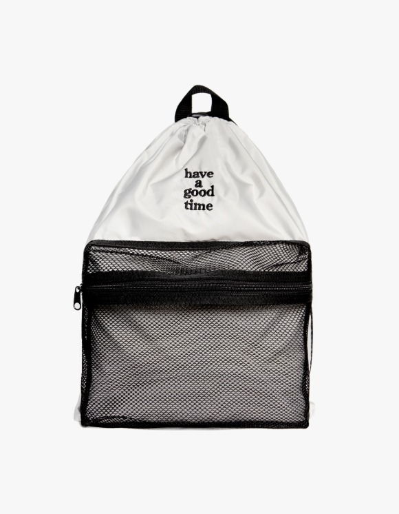 have a good time Logo Day Pack - Silver | HEIGHTS. | International Store