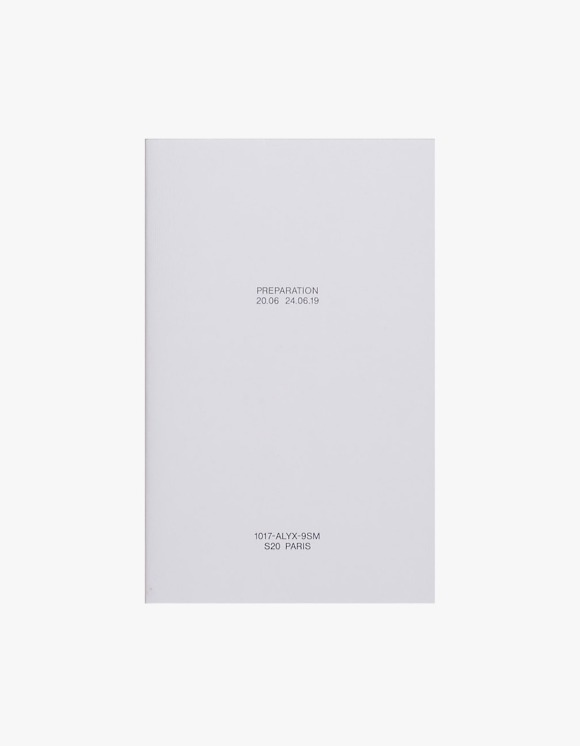 Selected Publications 1017-ALYX-9SM: Preparation S20 | HEIGHTS. | International Store