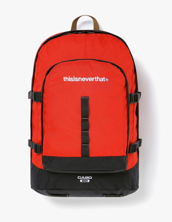 thisisneverthat CA90 20 Daypack - Red | HEIGHTS. | International Store