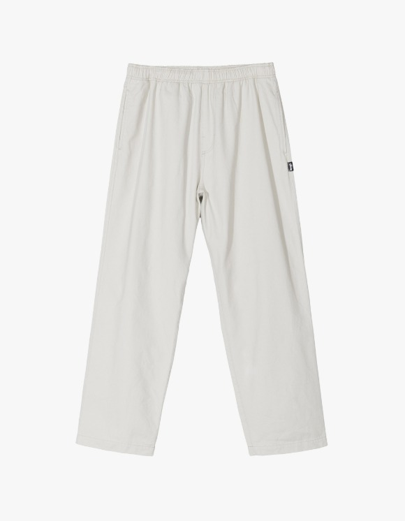 Stussy Brushed Beach Pant - Bone | HEIGHTS. | International Store