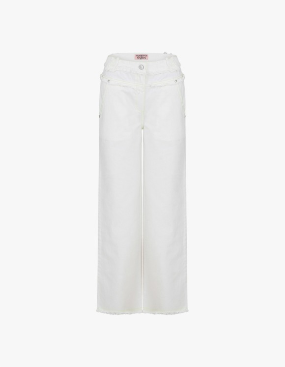 Margarin Fingers Muscat Straight Pants - Off White | HEIGHTS. | International Store