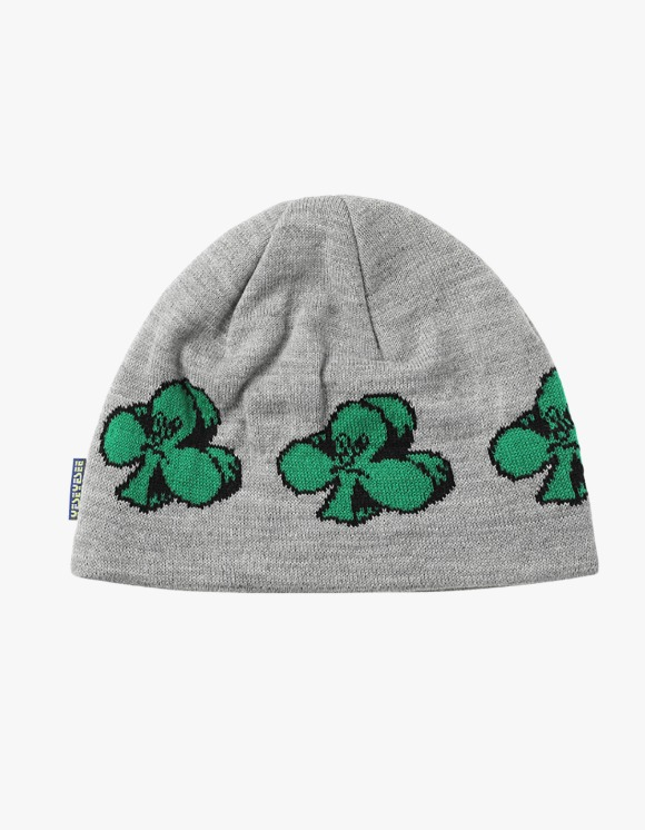 yeseyesee Y.E.S Clover Beanie - Grey | HEIGHTS. | International Store