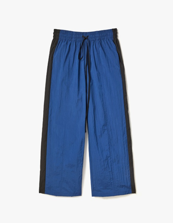 s/e/o Nylon Trimmed Pants - Blue | HEIGHTS. | International Store