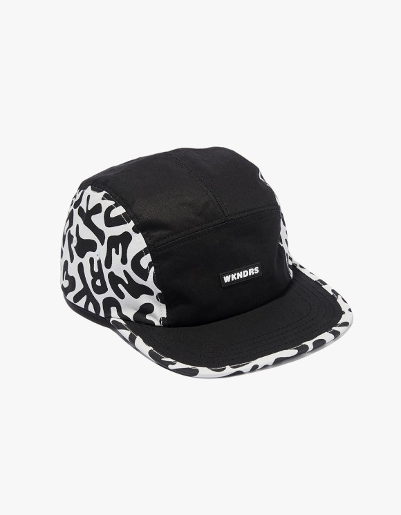 WKNDRS Drill Camp Cap - Black | HEIGHTS. | International Store
