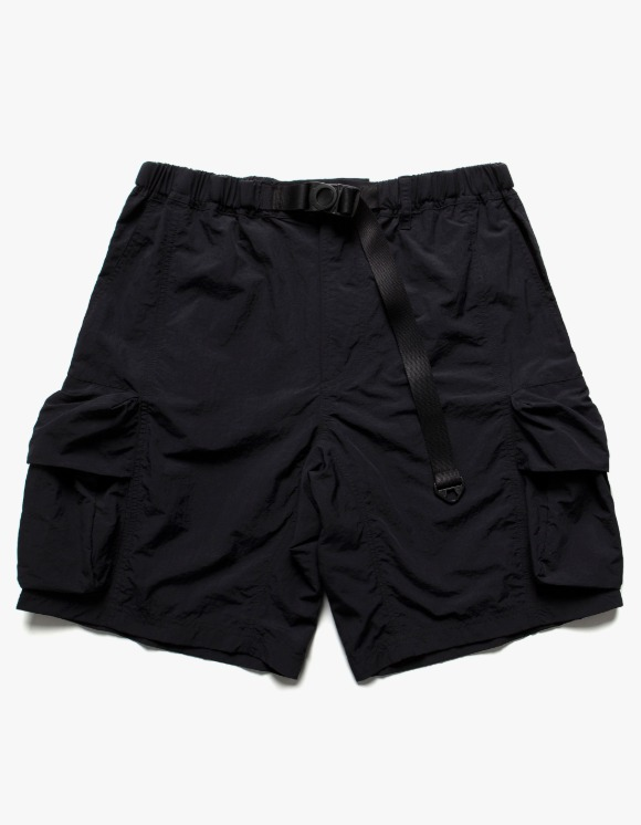 LORES Nylon Cargo Shorts - Black | HEIGHTS. | International Store