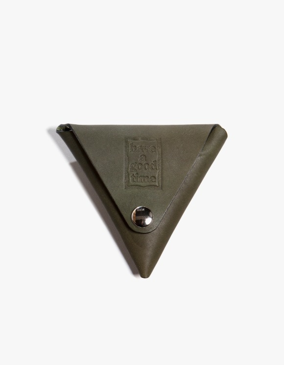 have a good time Leather Coin Case - Military | HEIGHTS. | International Store