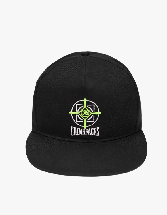 Richardson Crime Faces Cap - Black | HEIGHTS. | International Store