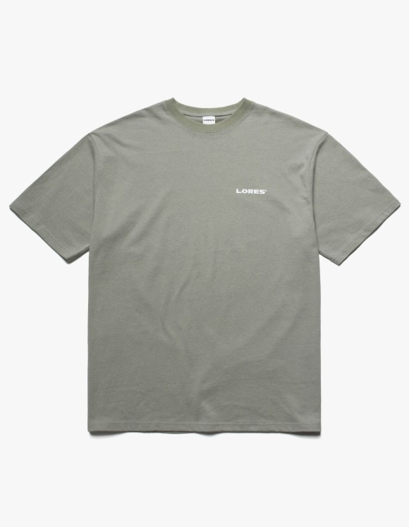 LORES Logo S/S Tee - Sage | HEIGHTS. | International Store