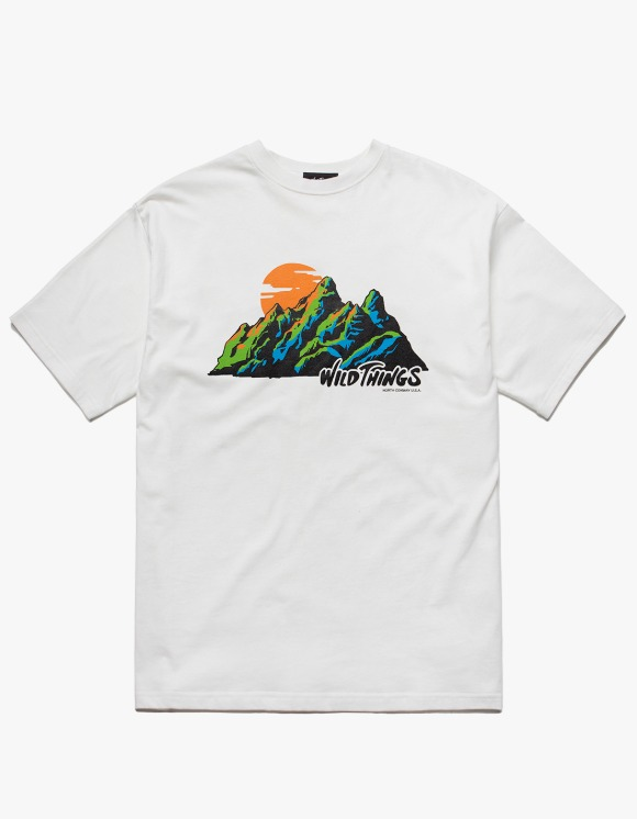 Wild Things Mountain Day S/S Tee - White | HEIGHTS. | International Store