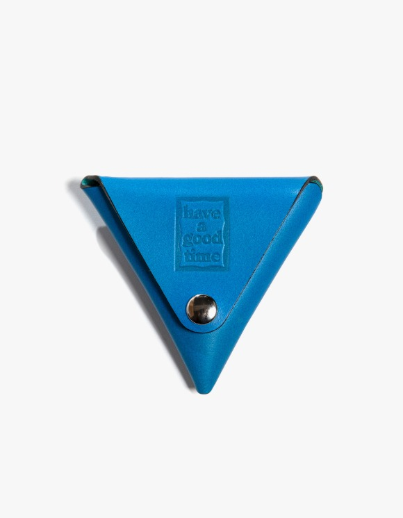 have a good time Leather Coin Case - Blue | HEIGHTS. | International Store