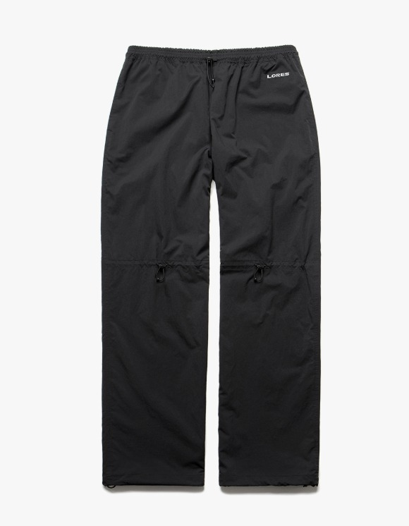 LORES PCU Nylon Pants - Black | HEIGHTS. | International Store