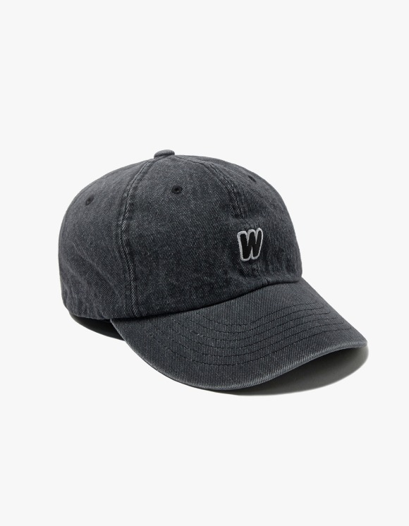 WKNDRS Distressed Denim Cap - Black | HEIGHTS. | International Store