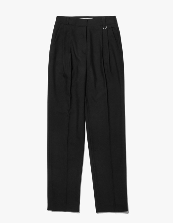 MISCHIEF Project Mago Tailored Pintuck Trousers - Black | HEIGHTS. | International Store