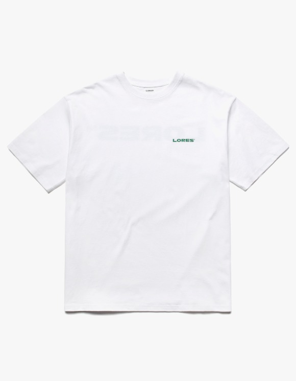 LORES Logo S/S Tee - White | HEIGHTS. | International Store