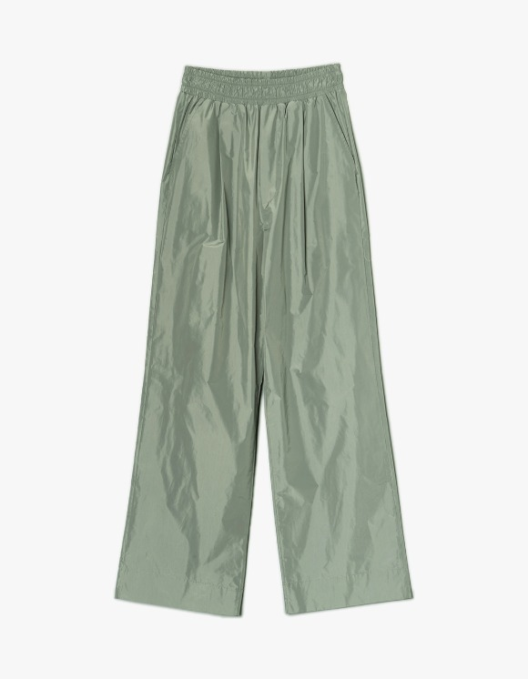 Enzo Blues Banding Wide Pants - Olivine | HEIGHTS. | International Store