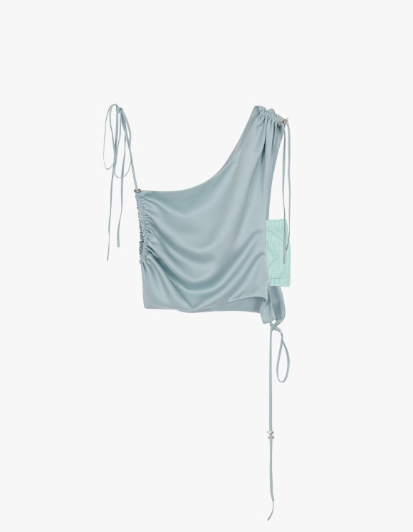 Andersson Bell [5월 31일 예약발송] Sofie Drape String Top - Mint | HEIGHTS. | International Store
