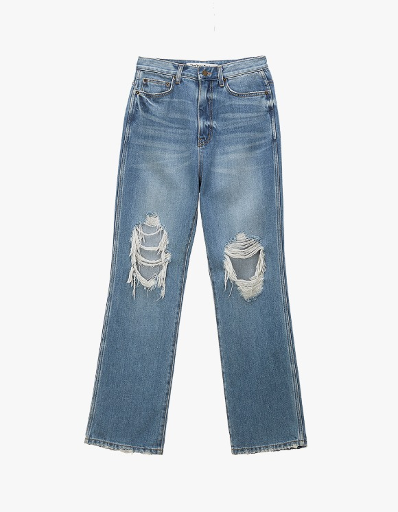 TheOpen Product Distressed Knee Jeans - Blue | HEIGHTS. | International Store