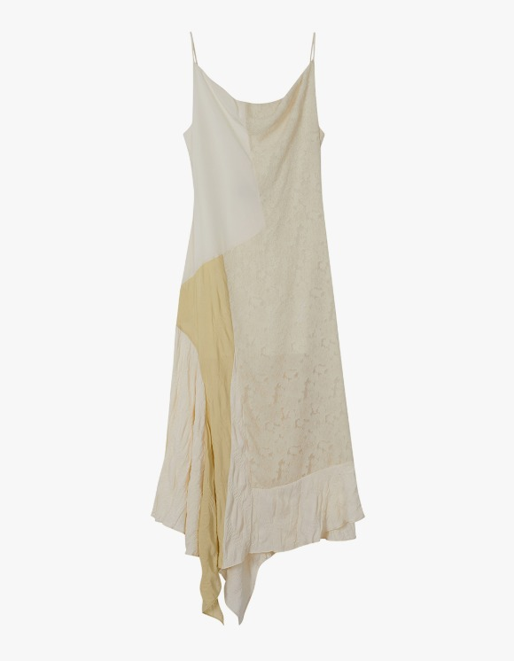 Andersson Bell Gabriel Cowl Neck Dress - Ecru | HEIGHTS. | International Store
