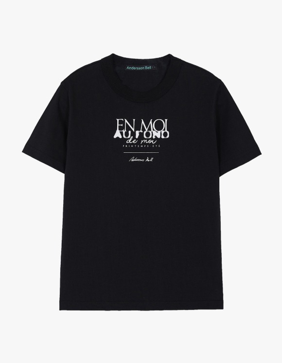 Andersson Bell EN Moi Print Tee - Black | HEIGHTS. | International Store