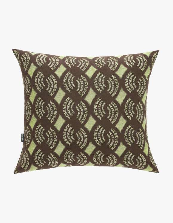 yeseyesee Y.E.S Jaquard Cushion - Brown | HEIGHTS. | International Store
