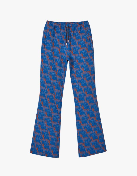 Andersson Bell Kendra Asymmetric Line Track Pants - Blue | HEIGHTS. | International Store