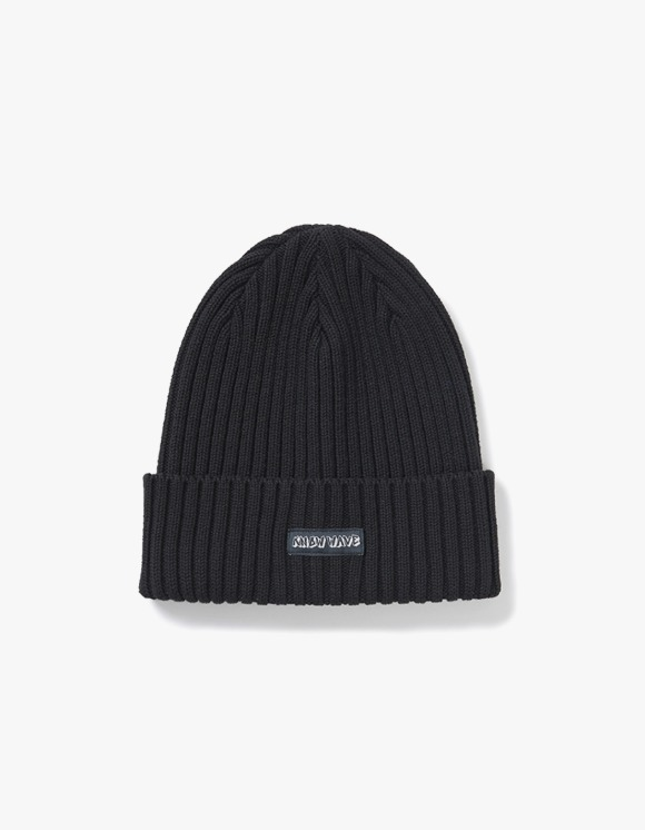 Know Wave Knowwave Overdyed Beanie - Black | HEIGHTS. | International Store