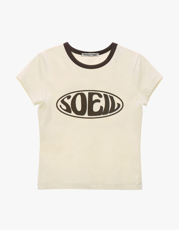 TheOpen Product Soeil Fitted S/S Tee - Cream | HEIGHTS. | International Store