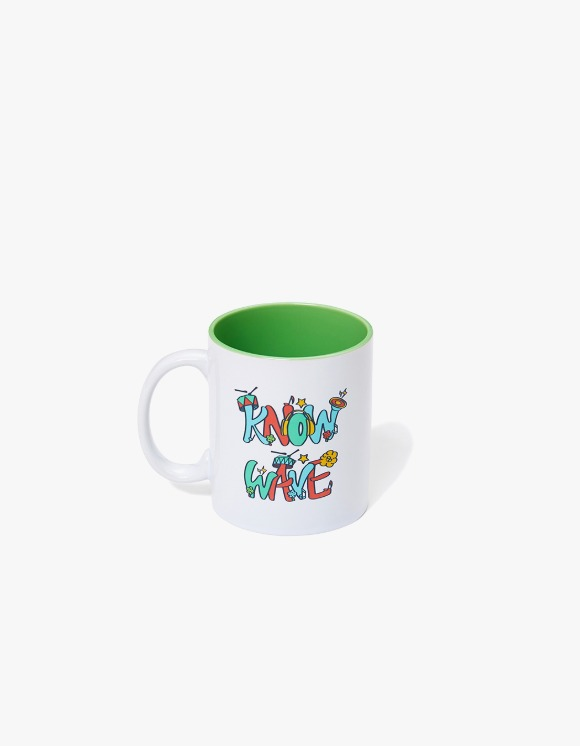 Know Wave Music Session Ceramic Mug Cup - Whie | HEIGHTS. | International Store