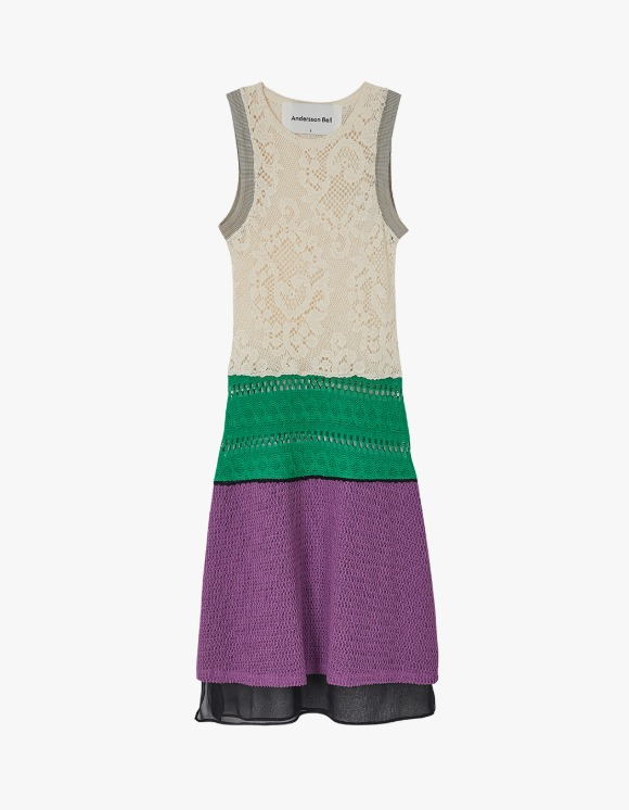 Andersson Bell Summer Knit Like See-Through Dress - Ivroy | HEIGHTS. | International Store