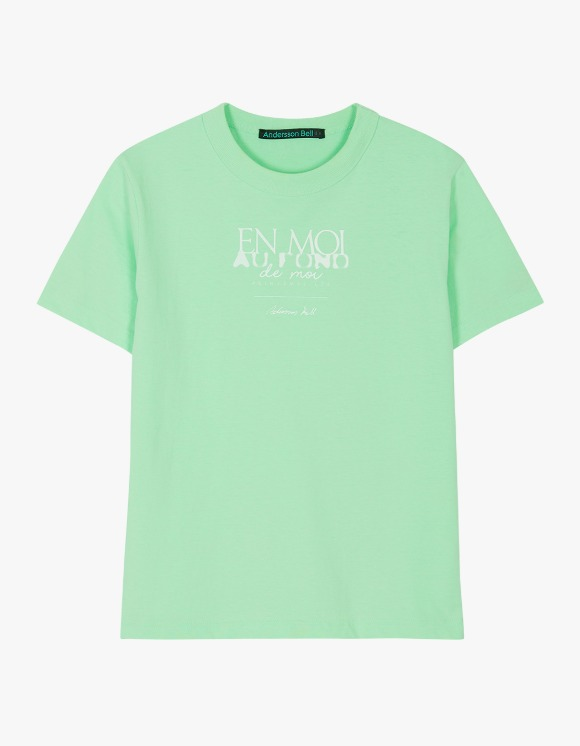 Andersson Bell EN Moi Print Tee - Pale Jade | HEIGHTS. | International Store